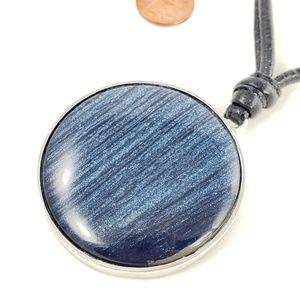 Chico's Jewelry - Chico's Pendant Necklace Blue